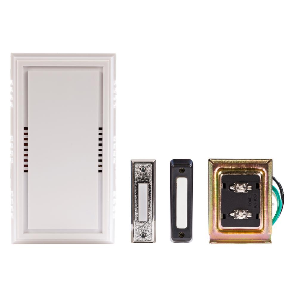 hight resolution of wired door chime deluxe contractor kit