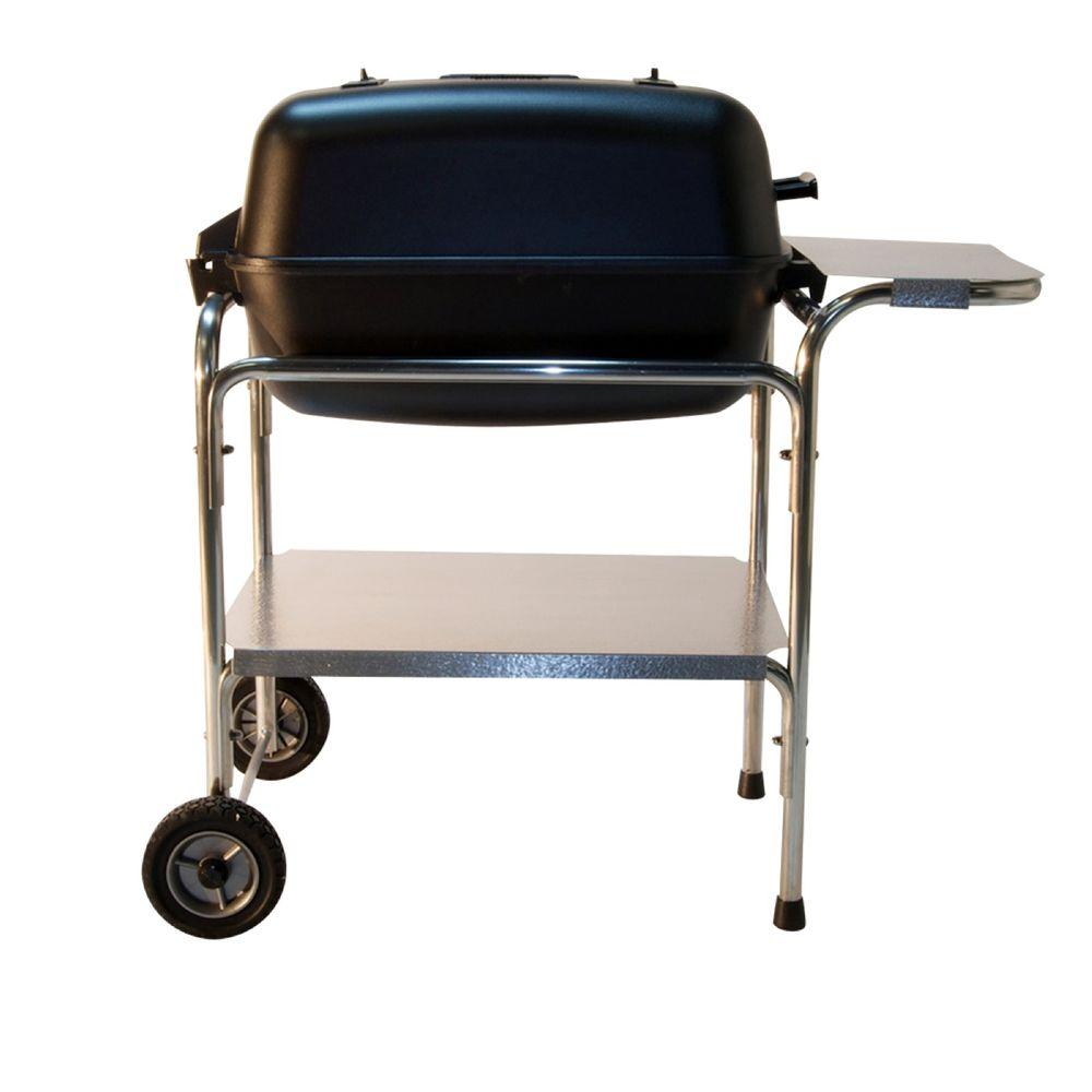 portable kitchen cabinets pk grills original grill and smoker in graphite