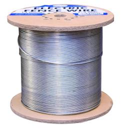 1 4 mile 14 gauge galvanized electric fence wire [ 1000 x 1000 Pixel ]