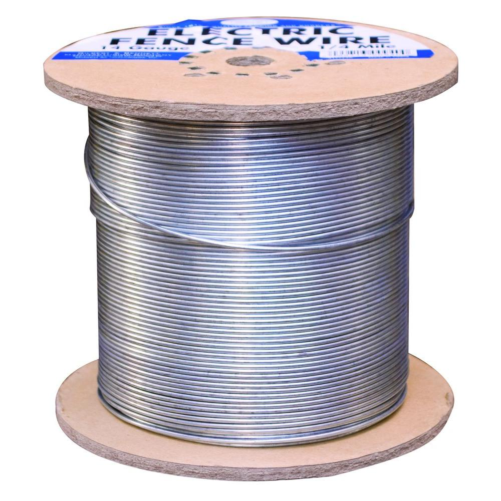 hight resolution of 1 4 mile 14 gauge galvanized electric fence wire