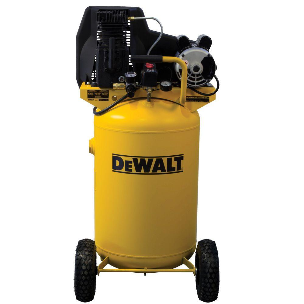 medium resolution of dewalt 30 gal portable vertical electric air compressor