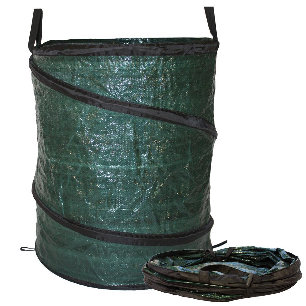 30 Gal Collapsible Reusable Pop Up Lawn Garden Leaf Bag