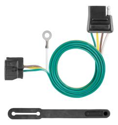 custom towed vehicle rv wiring harness add on [ 1000 x 1000 Pixel ]