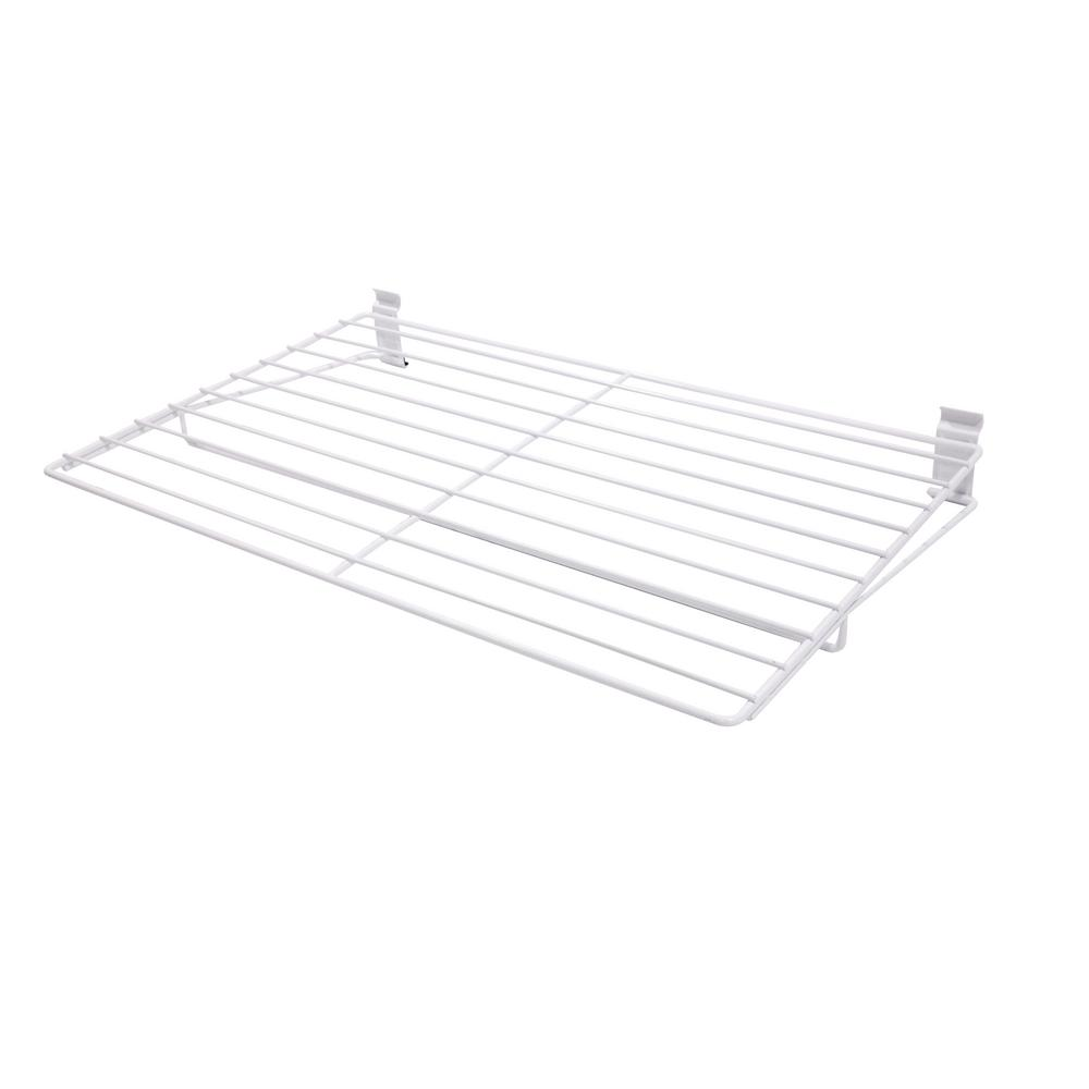 WallTech 3.5 in. x 27.5 in. White Steel Extra Large All