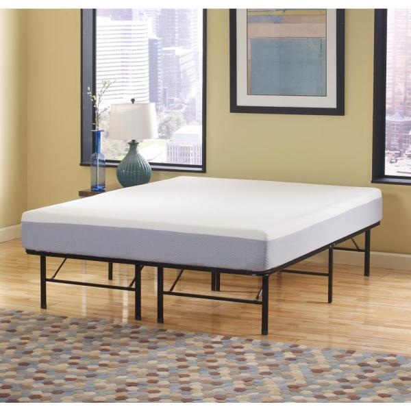 Rest Rite Queen Medium Memory Foam Mattress-mepf8112qn - Home Depot