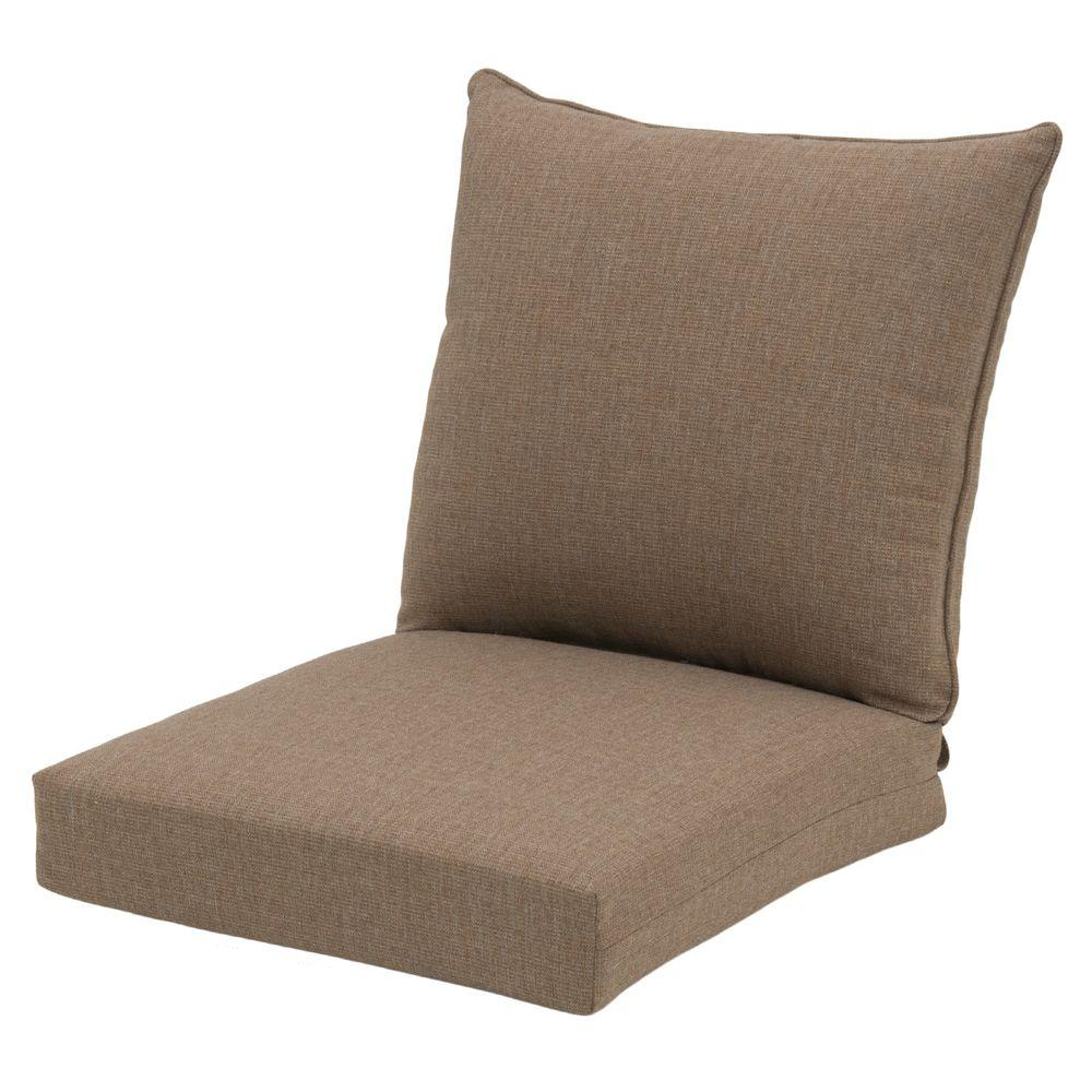 outdoor chair cushions sale west elm hampton bay 22 x 24 lounge cushion in luxe stripe 7297 01228100 the home depot