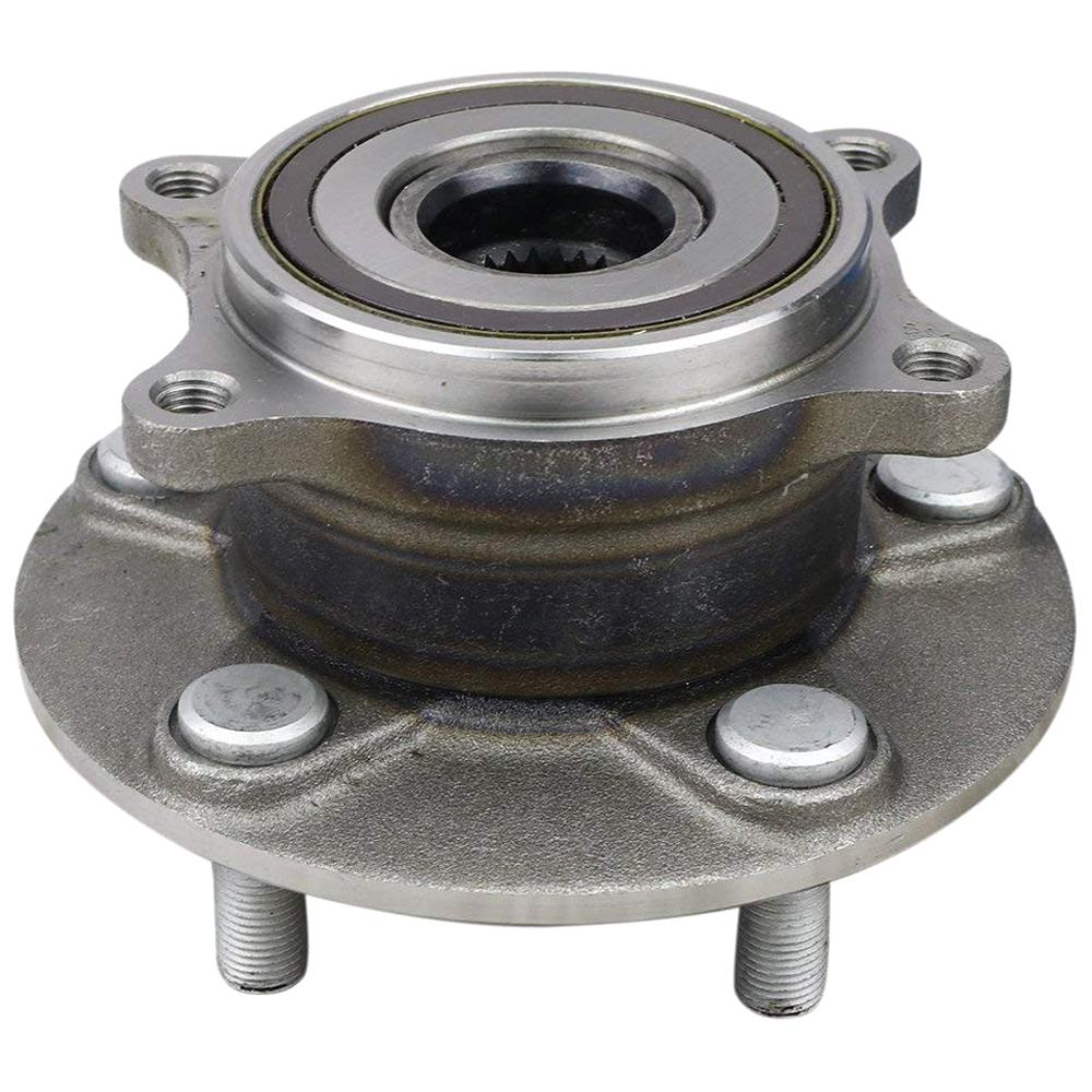 medium resolution of wheel bearing and hub assembly rear
