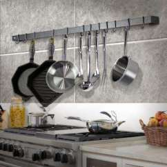 Kitchen Pot Racks Double Glazed Doors Storage Organization The Home Depot Handcrafted