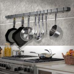 Pot Racks For Kitchen Estimator Storage Organization The Home Depot Handcrafted