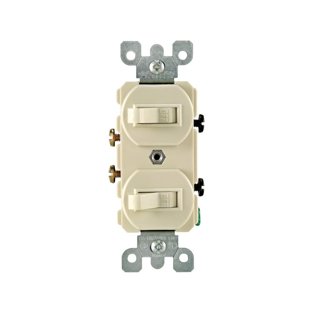 Version 1 Dual Single Pole Switches