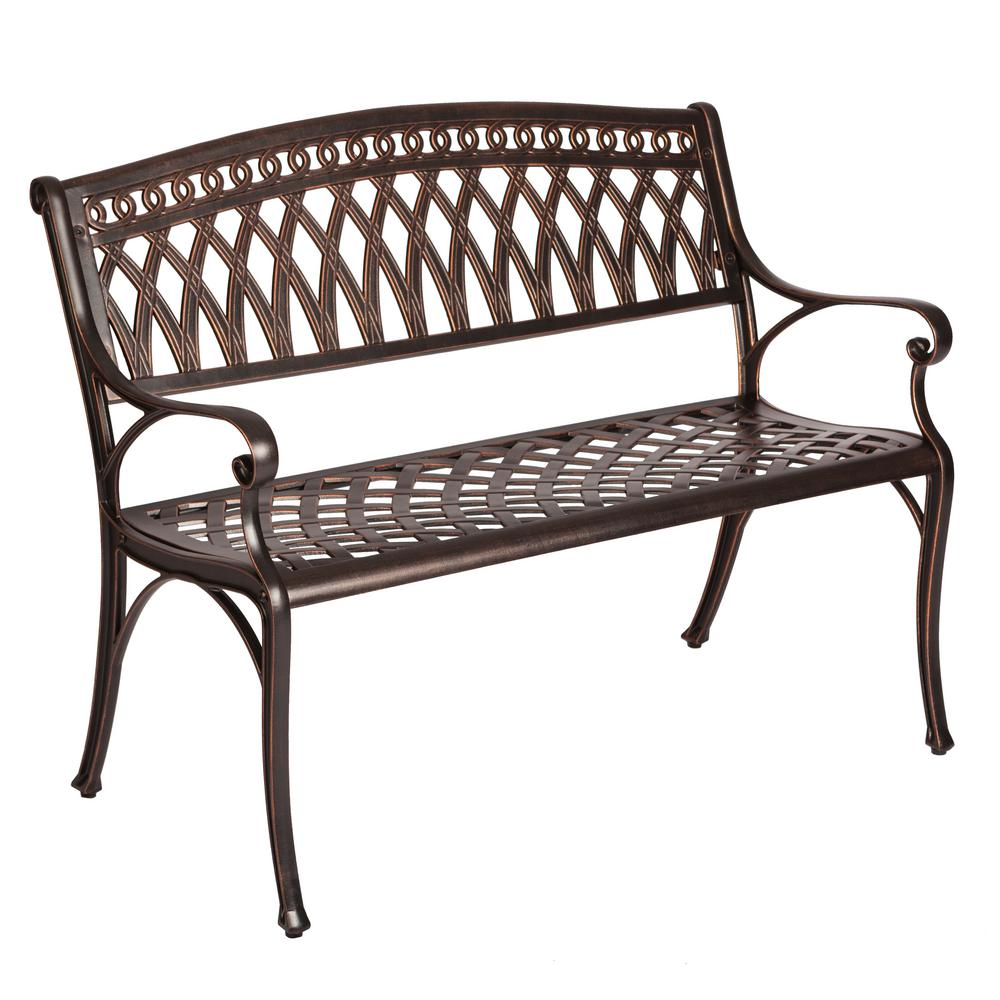 White Cast Iron Lawn Furniture