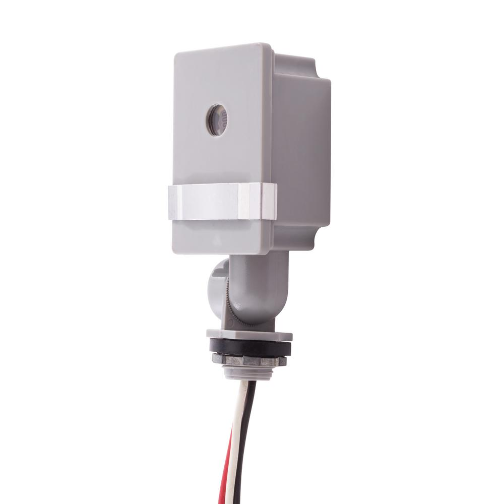 medium resolution of 120 volt led cfl swivel mount photo control