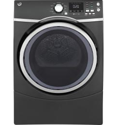 ge 7 5 cu ft capacity front load electric dryer with steam in diamond gray [ 1000 x 1000 Pixel ]