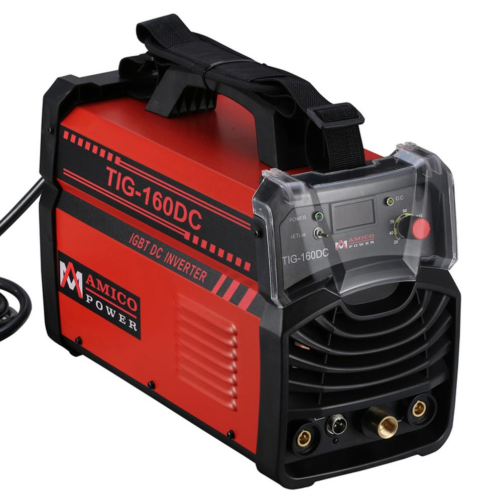 hight resolution of amico 160 amp tig torch arc stick dc inverter welder 110 230 volt