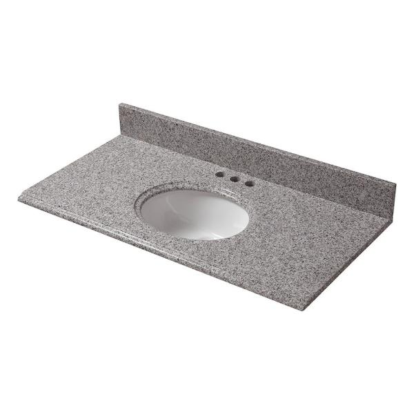 Granite Vanity Top with Bowl 32 X 19