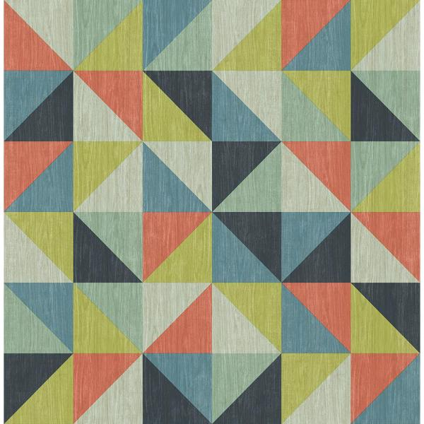 Modern Geometric Blue Background