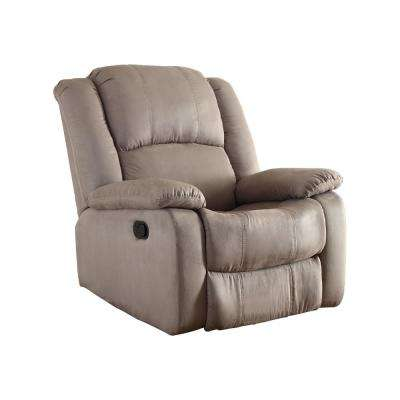 recliner chairs cheap camo folding chair recliners the home depot gray microfiber