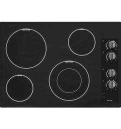 maytag 30 in ceramic glass electric cooktop in black with 4 elements including dual choice [ 1000 x 1000 Pixel ]