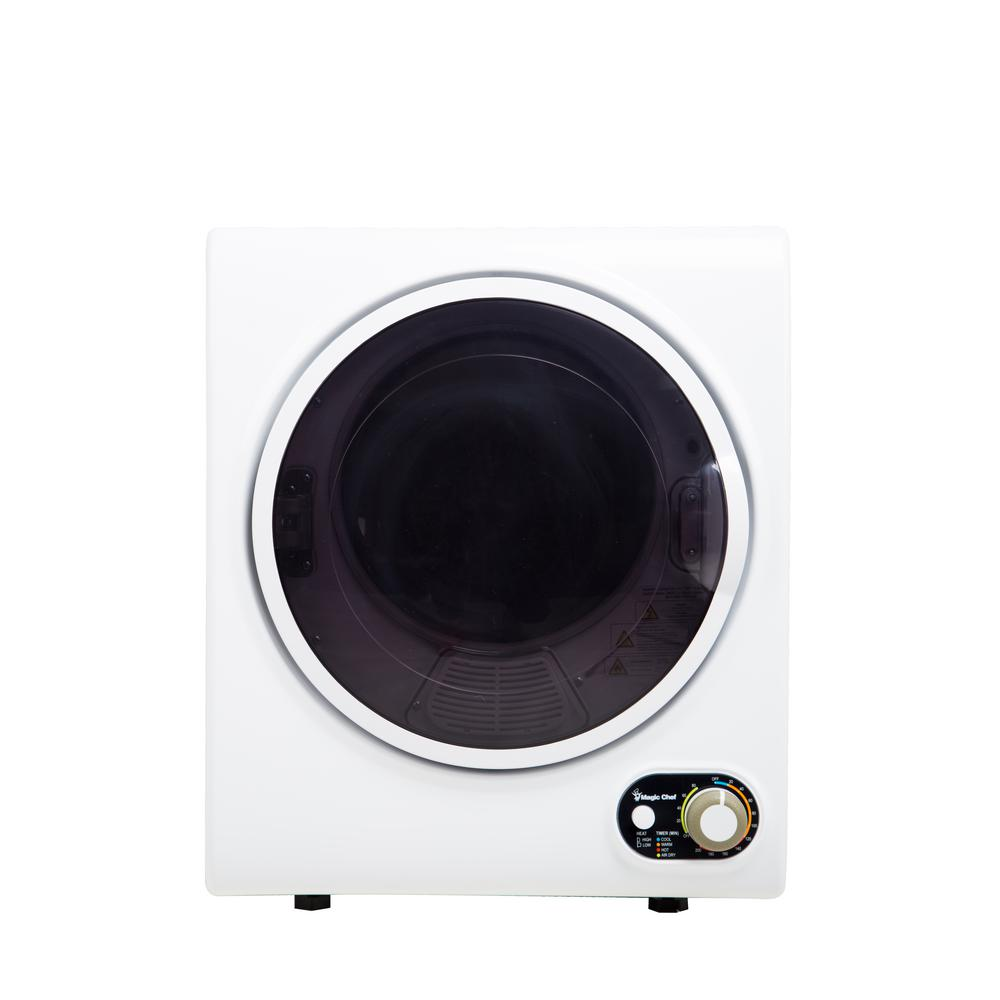 medium resolution of electric dryer in white