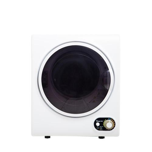 small resolution of electric dryer in white