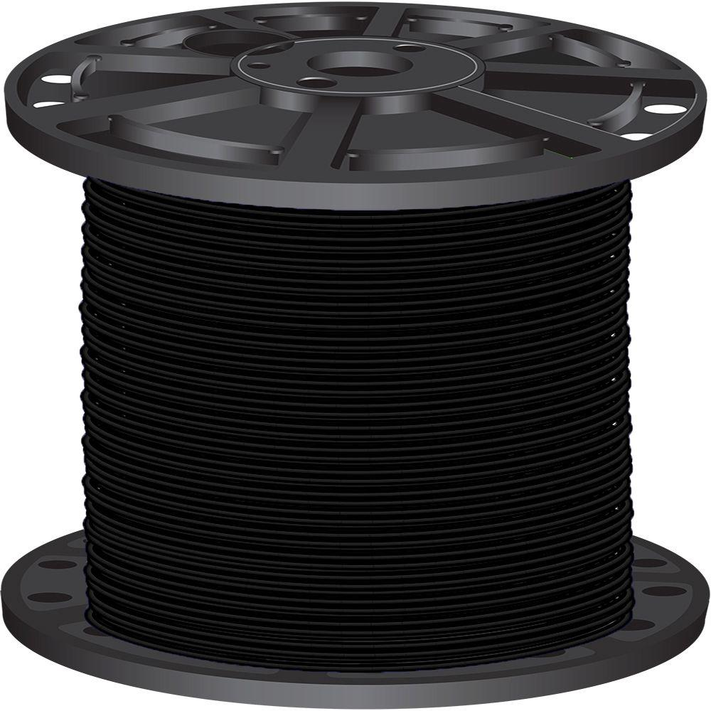 Southwire 2 500 Ft 10 Black Stranded Cu Xhhw Wire