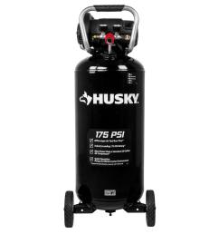 husky 20 gal 175 psi portable electric air compressor c201h the central pneumatic air compressor wiring [ 1000 x 1000 Pixel ]