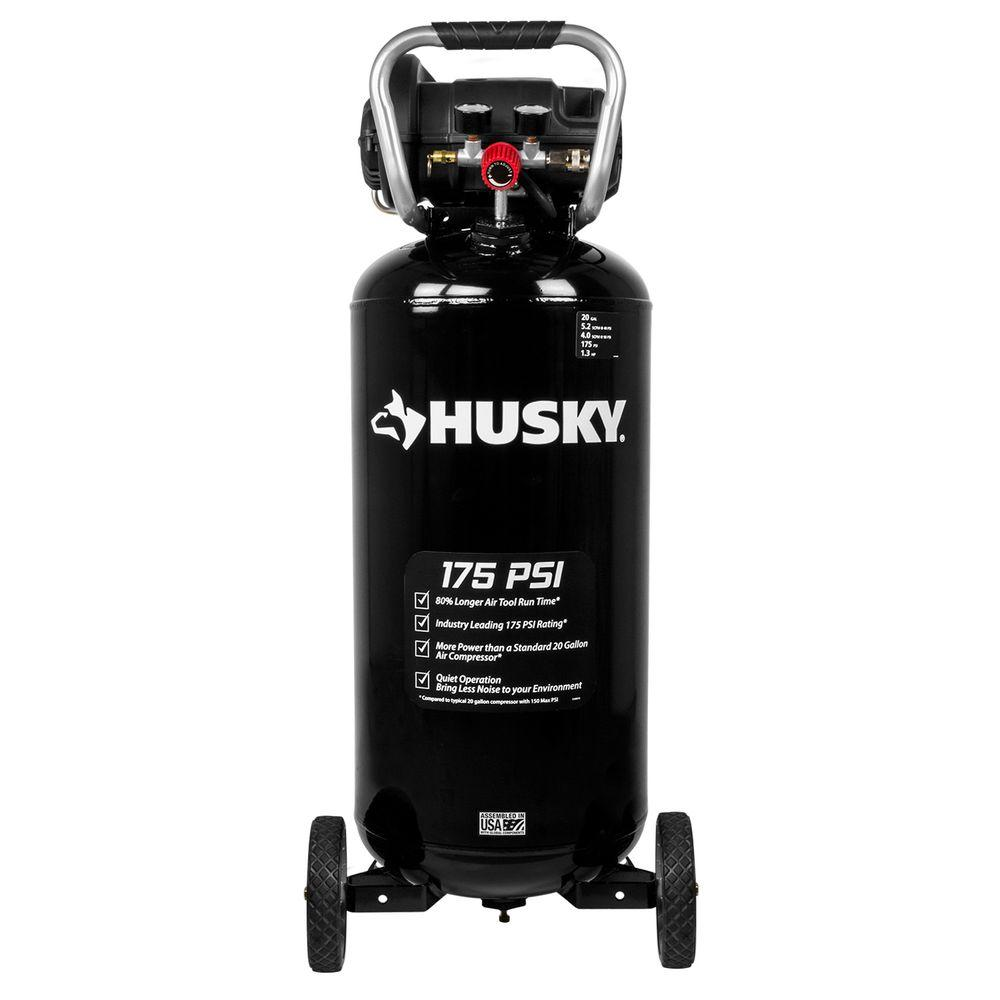 medium resolution of husky 20 gal 175 psi portable electric air compressor c201h the central pneumatic air compressor wiring