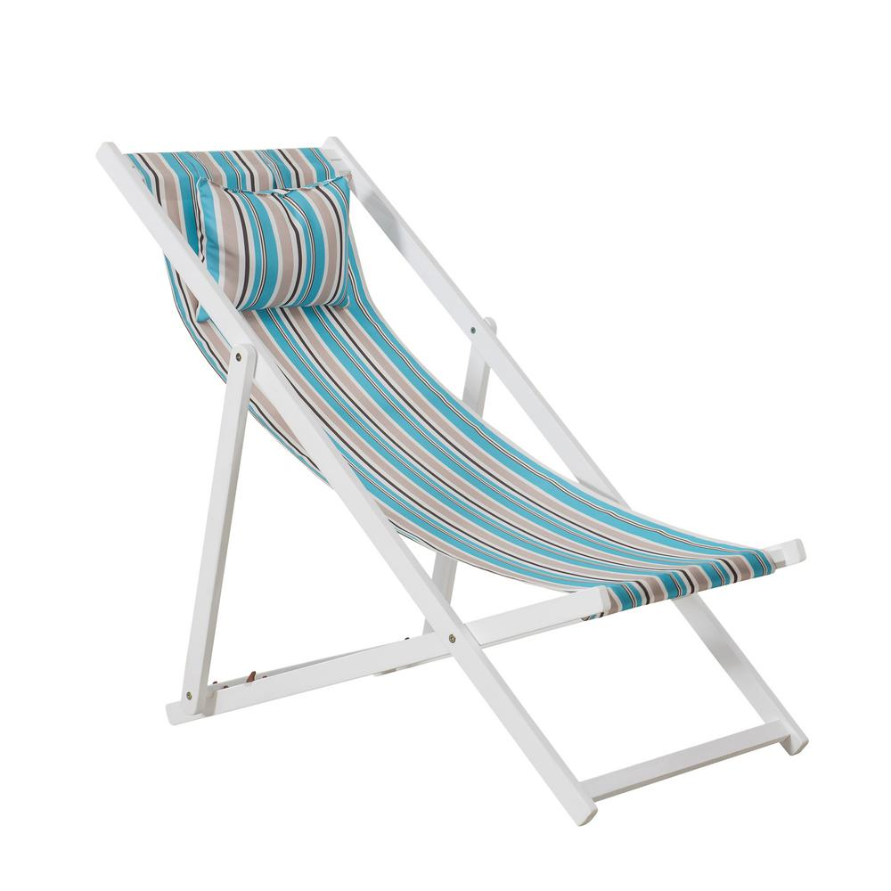 Folding Wood Beach Chair Sunjoy Belton White Wooden Folding Beach Chair