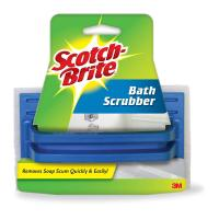 Scotch-Brite 5.8 in. x 3.5 in. Delicate Duty Bath Scrubber ...
