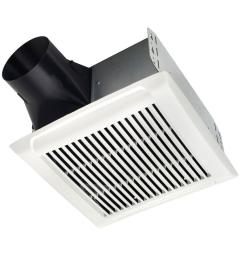 nutone invent series 80 cfm wall ceiling installation bathroom exhaust fan [ 1000 x 1000 Pixel ]