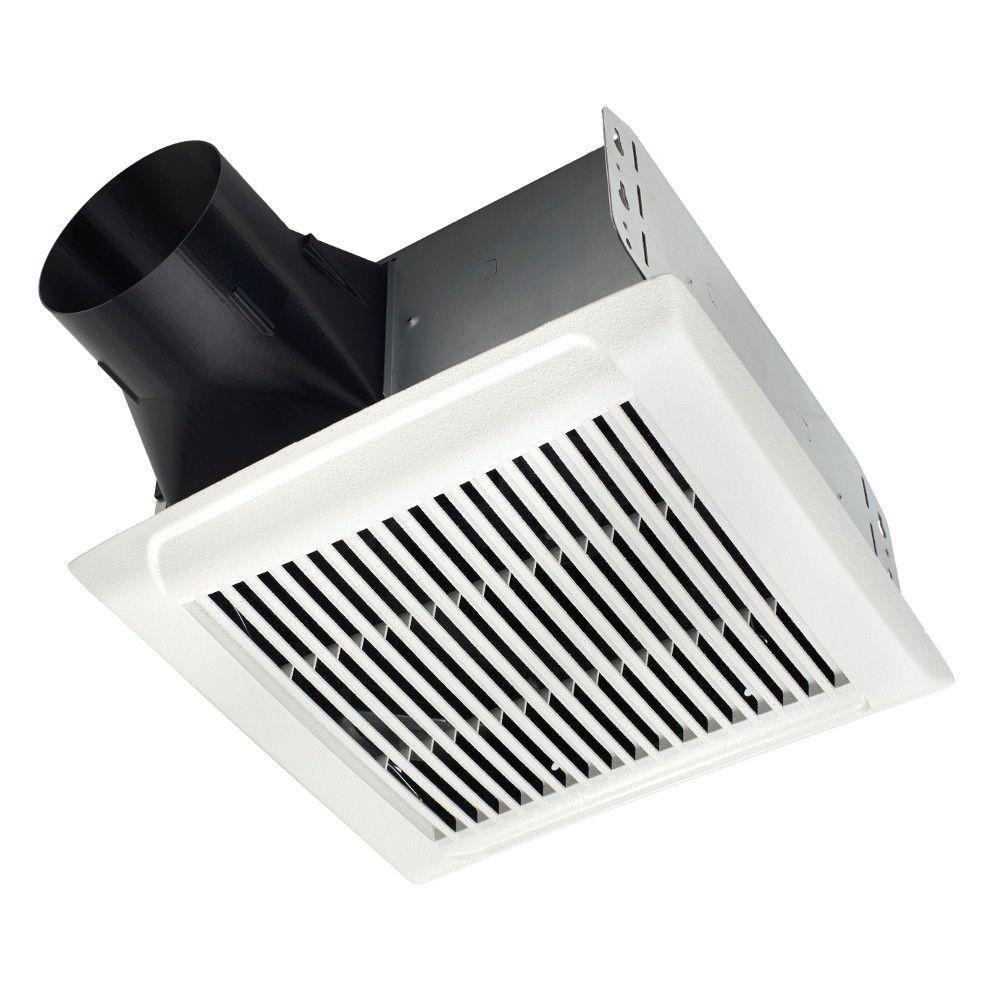 hight resolution of nutone invent series 80 cfm wall ceiling installation bathroom exhaust fan