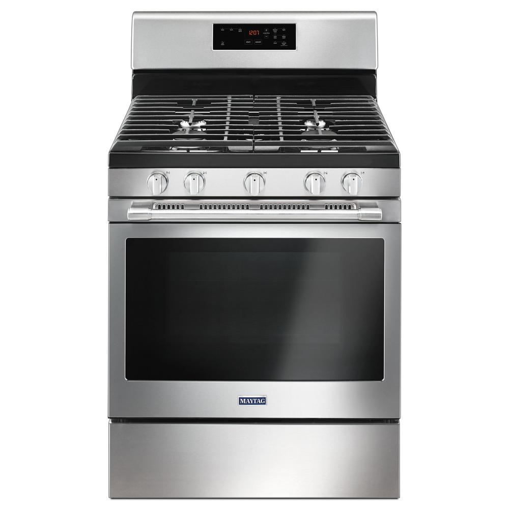 medium resolution of maytag 5 0 cu ft gas range with 5th oval burner in fingerprint maytag stove element wiring diagram