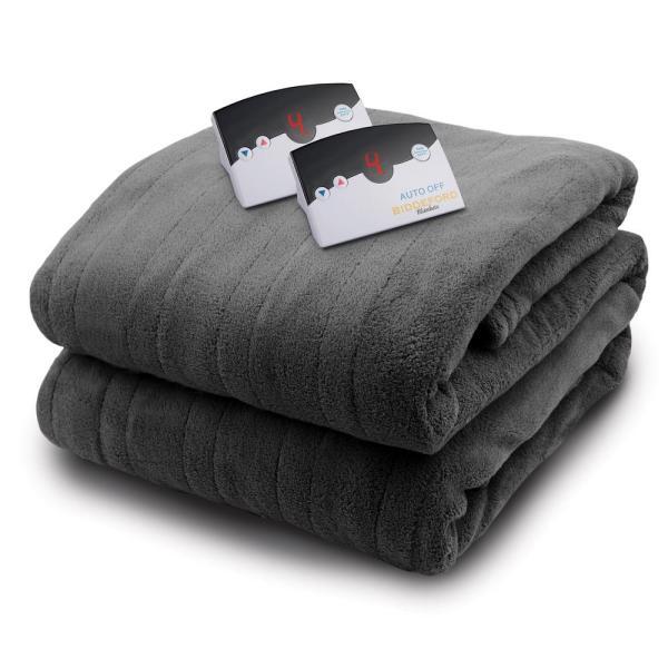 Biddeford Heated Plush Blanket