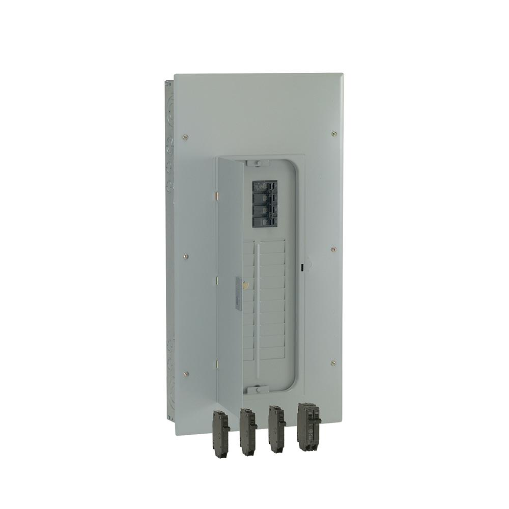 medium resolution of 200 amp 20 space 40 circuit main breaker indoor load center contractor kit