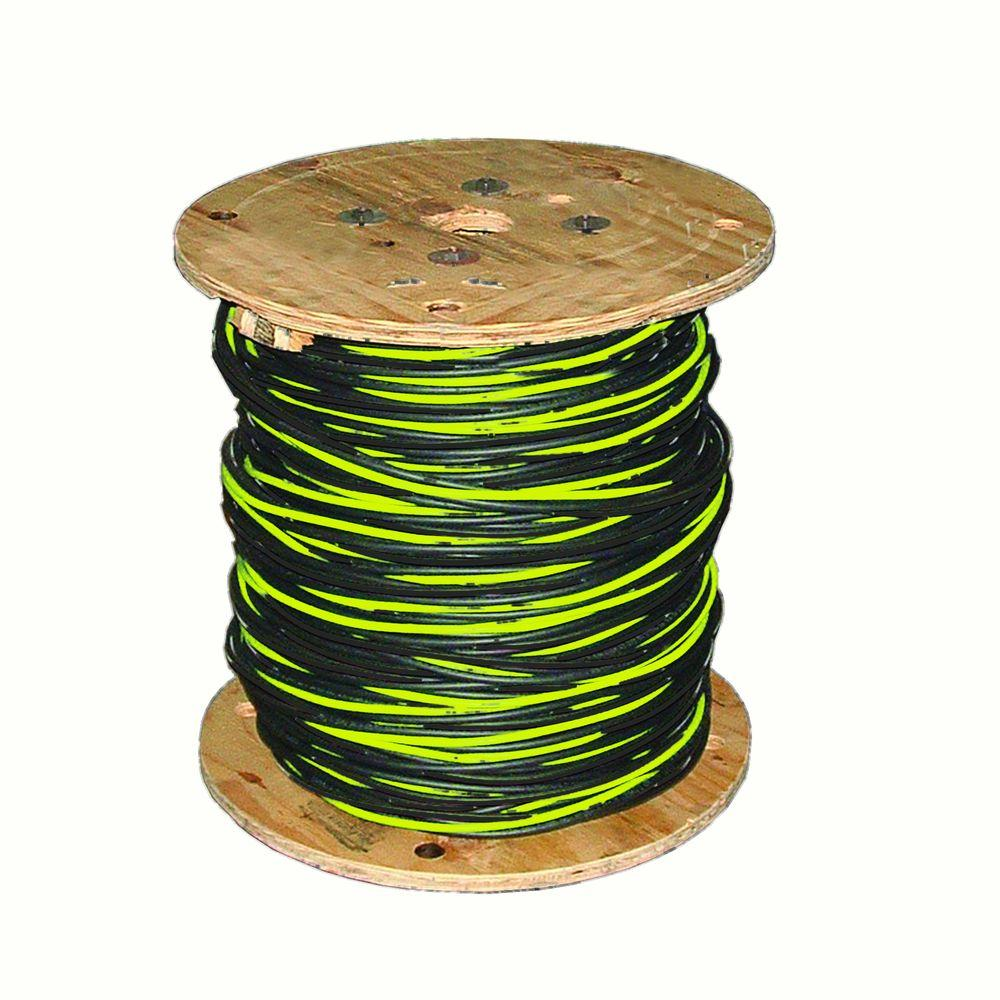 hight resolution of southwire 500 ft 2 2 4 black stranded al stephens urd cable 55417505 the home depot