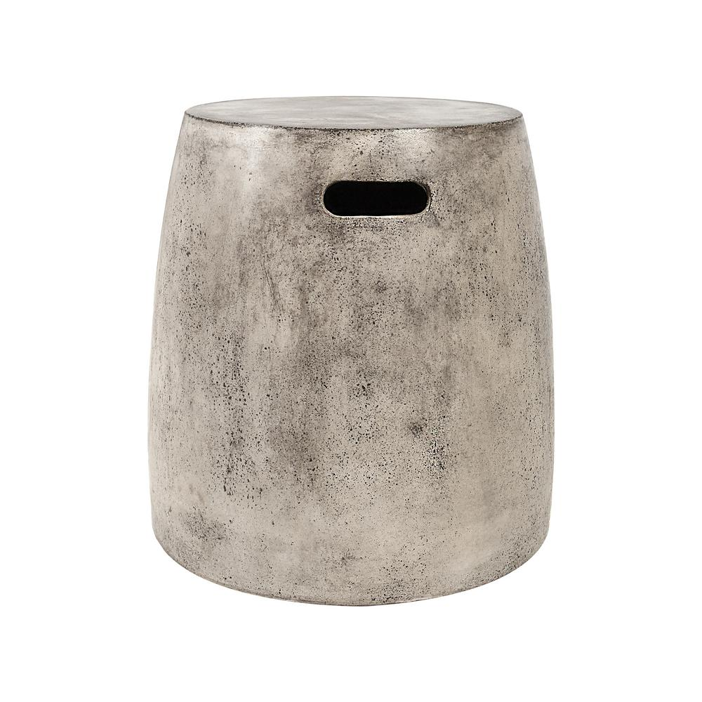 bar chairs concrete pottery barn bean bag chair titan lighting 18 in hive polished stool tn 892392 the home depot