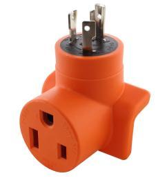 ac works ac connectors l6 30p 30 amp 250 volt locking plug to 6 [ 1000 x 1000 Pixel ]