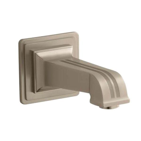 Brass Wall Mount Diverter Bath Spout