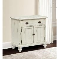 SAUDER Harbor View Antiqued Storage Cabinet-400742 - The ...