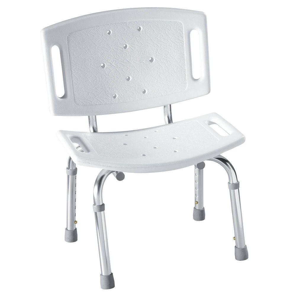 handicap shower chair car covers amazon moen adjustable in white dn7030 the home depot