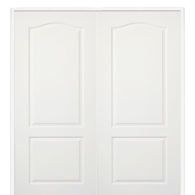 Mmi Door 60 In X 80 Smooth Princeton Both Active Solid Core Primed