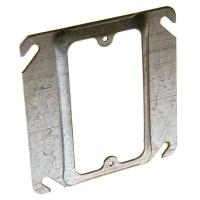 4 in. Square Single Device Mud Ring, 1/2 in. Raised-8772 ...