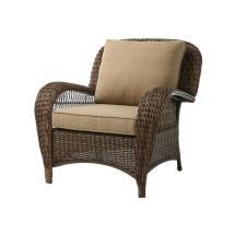 Hampton Bay Wicker Lounge Chair