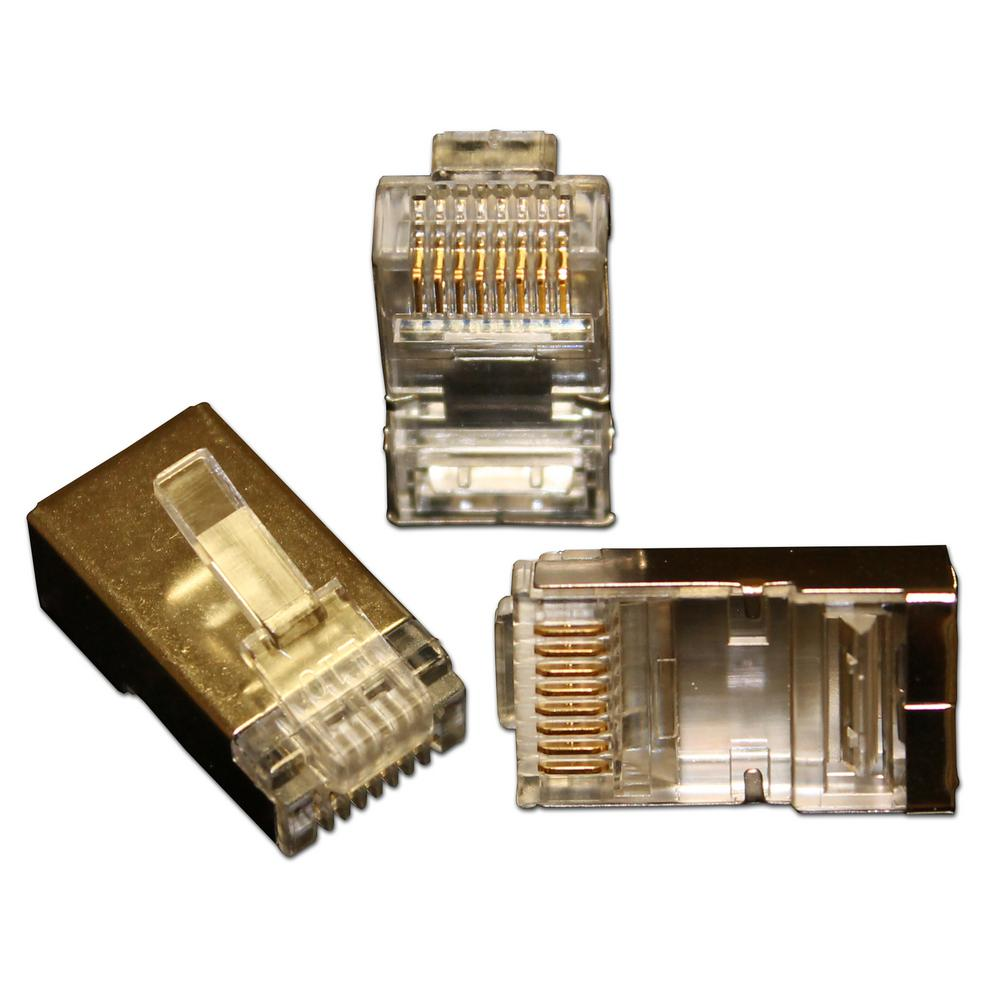 hight resolution of eclipse quikthru rj45 cat6 internal shielded connectors 10 pack 902 551 10 the home depot