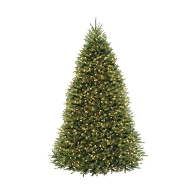 10 Ft. Dunhill Fir Artificial Christmas Tree With 1200