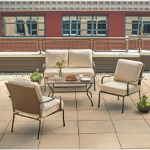 Hampton Bay Patio Conversation Set