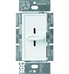 lutron skylark 1 5 amp single pole 3 speed fan control white [ 1000 x 1000 Pixel ]
