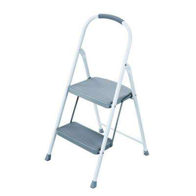 kitchen ladder wooden play sets household utility type 2 225 lbs foldable step steel stool with lb load capacity ii duty rating
