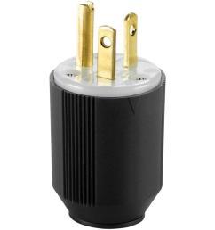 eaton 20 amp 250 volt 6 20 autogrip plug and connector [ 1000 x 1000 Pixel ]