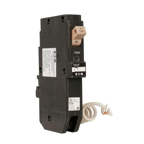 small resolution of ch 20 amp 1 pole self test ground fault circuit breaker with trip flag